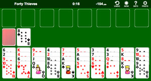 Solitario - 40 Ladrones screenshot