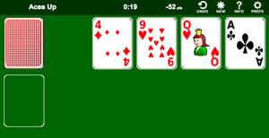 Solitario con Ases Altos screenshot