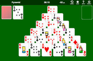 Solitario Pirámide screenshot